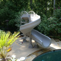 Waterslide installation - Milton, GA