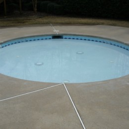 Blue Colorquartz pool plaster - Woodstock, GA