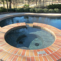 Notice the detail in this brick coping - pefect!  - Braselton, GA
