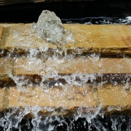 Masonry repair and a new fountain basin lining - Atlanta, GA