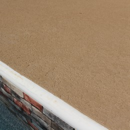 'Buff' color deck texture and a new vinyl liner make this a brand new pool! - Woodstock, GA